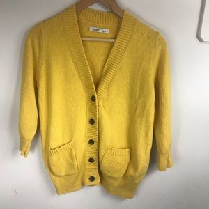 Old Navy Sweaters - OLD NAVY | Mustard Cardigan Small
